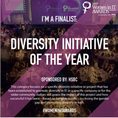 We are Finalists for a Women in IT Award!