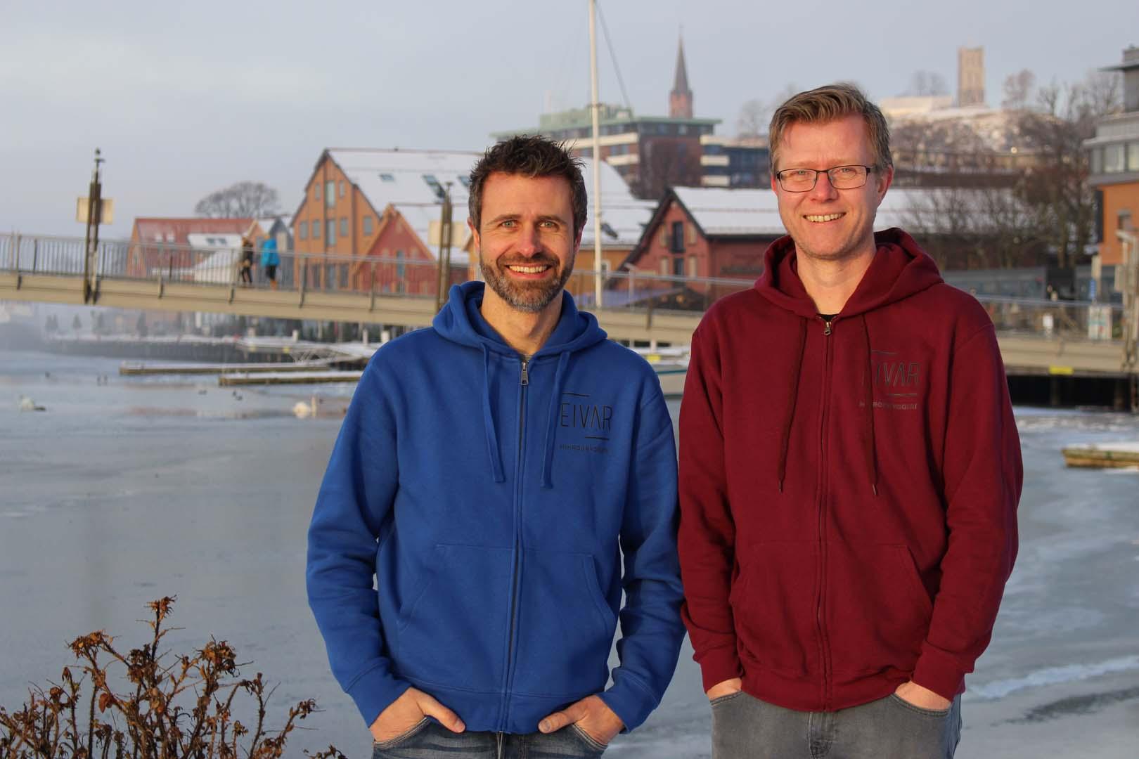 Bilde av Eivind og Arild