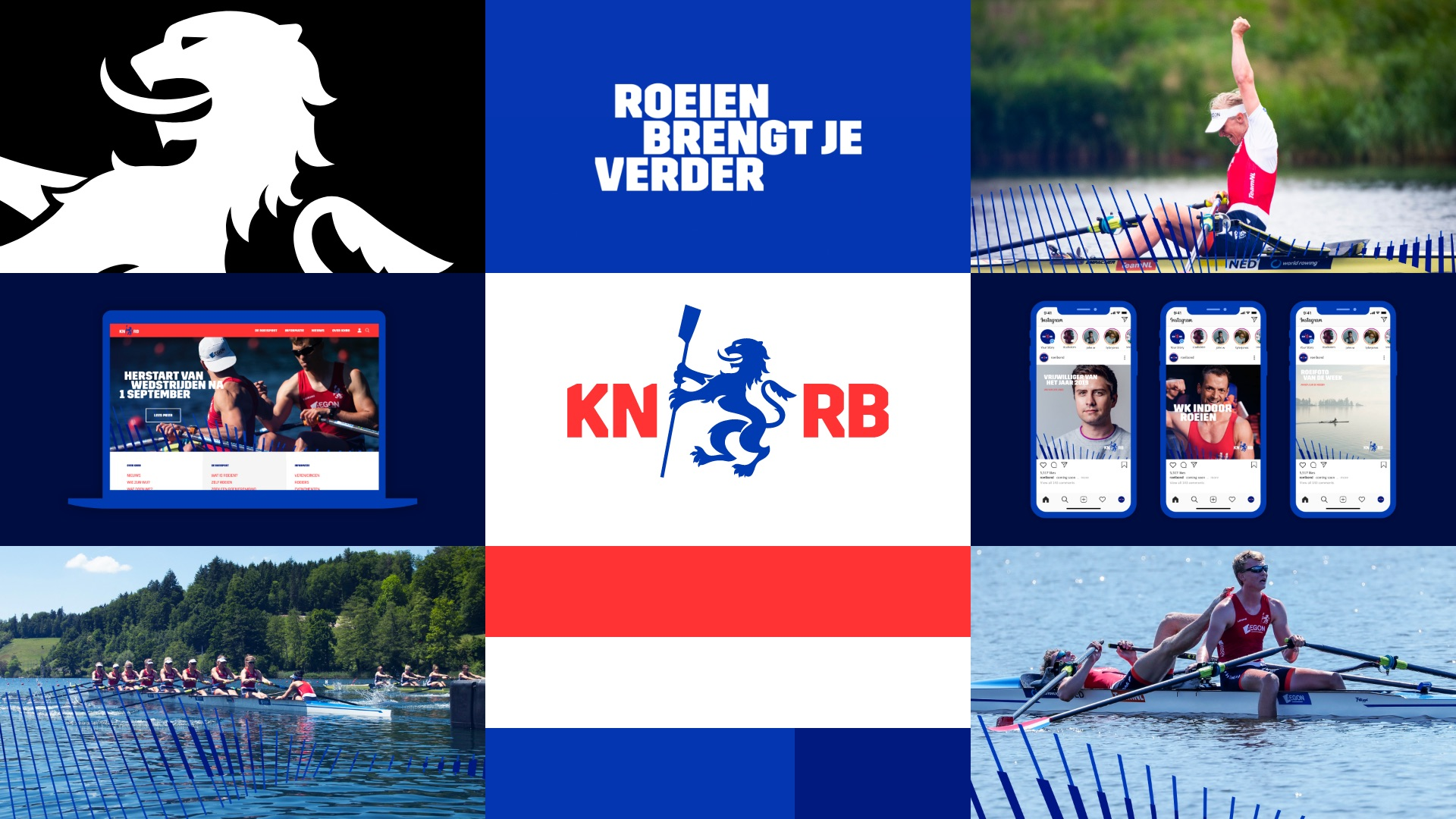 A new roar for the Royal Dutch Rowing Federation (KNRB)