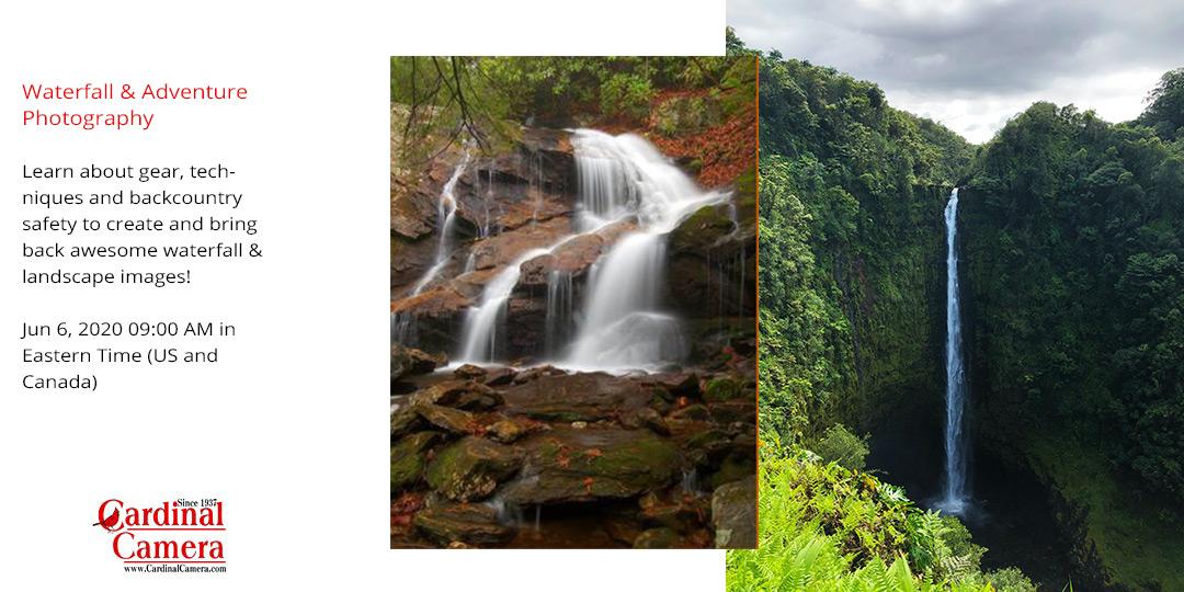June 6 Waterfall & Adventure Photography
