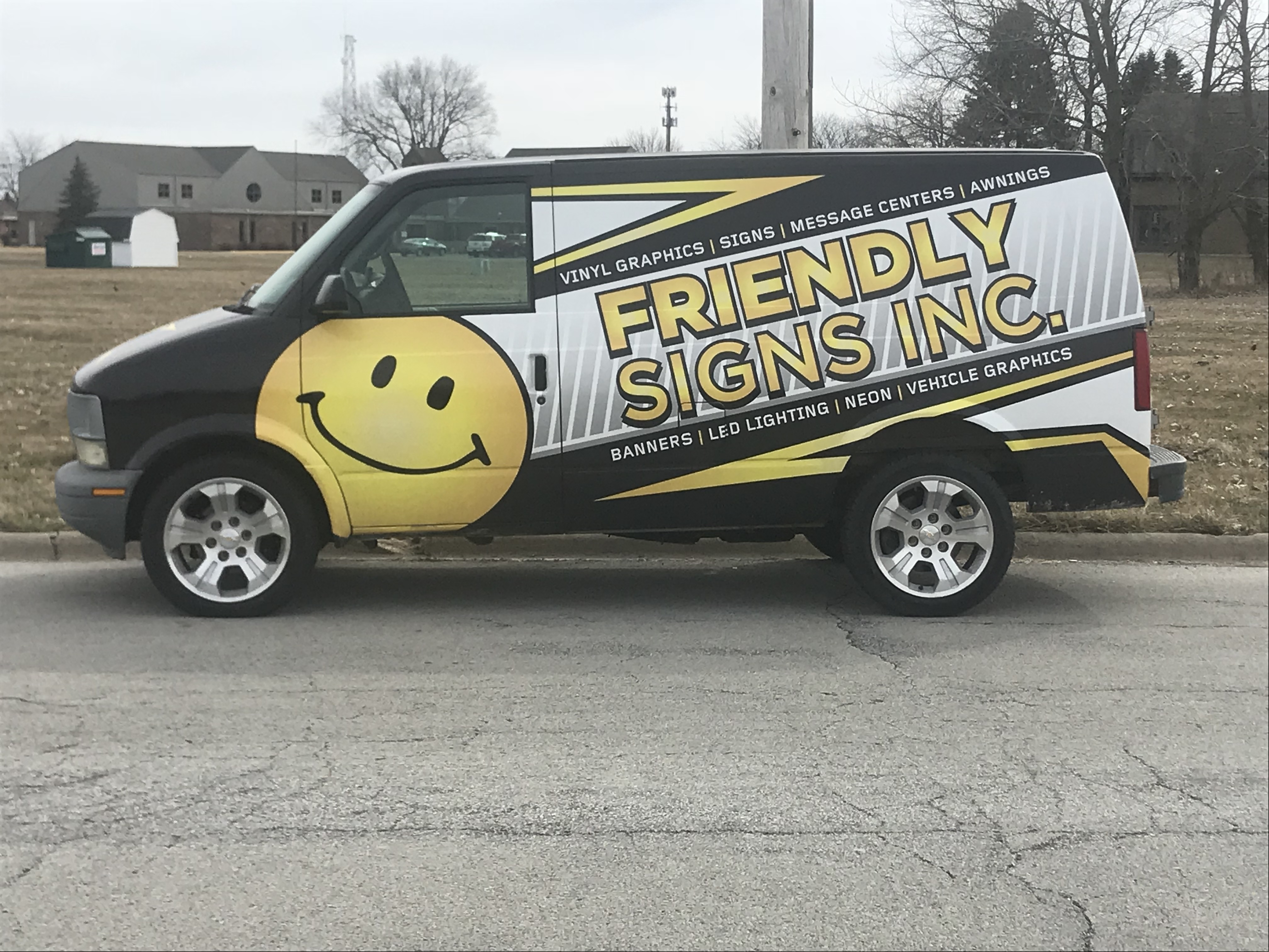 Vehicle wraps friendly signs inc kankakee il