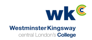 RAO Fish Merchants Client - Westminster Kingsway College