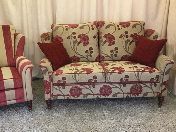 Example of sofas upholstered by Oak Tree