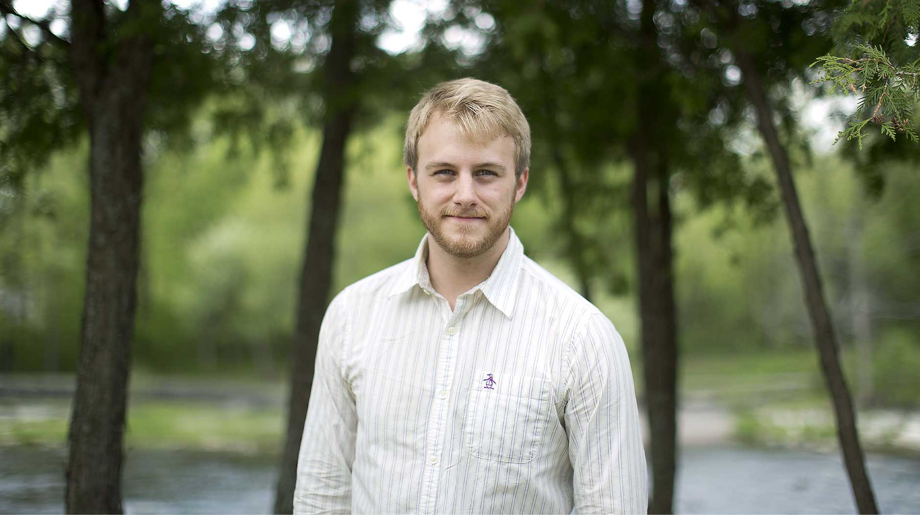 Portrait of Chris Bailey, author of The Productivity Project by Chris Roussakis