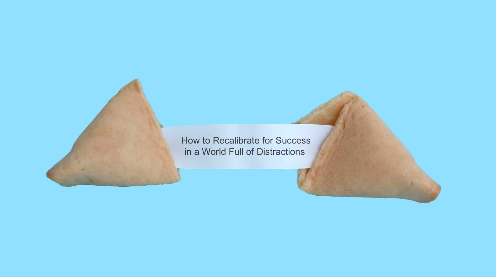 Fortune cookie with texts inside