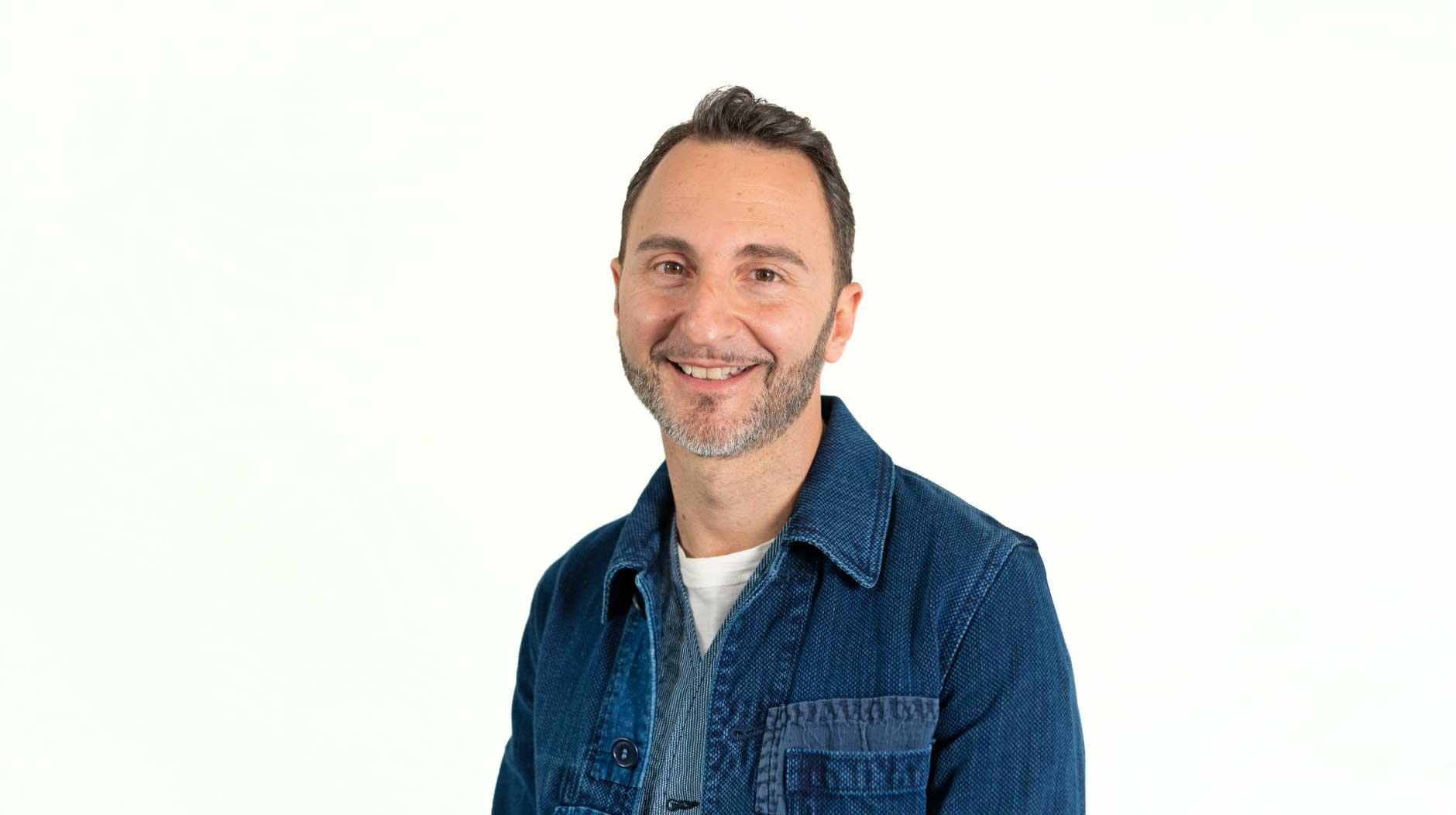 A portrait of Marco Stefanelli