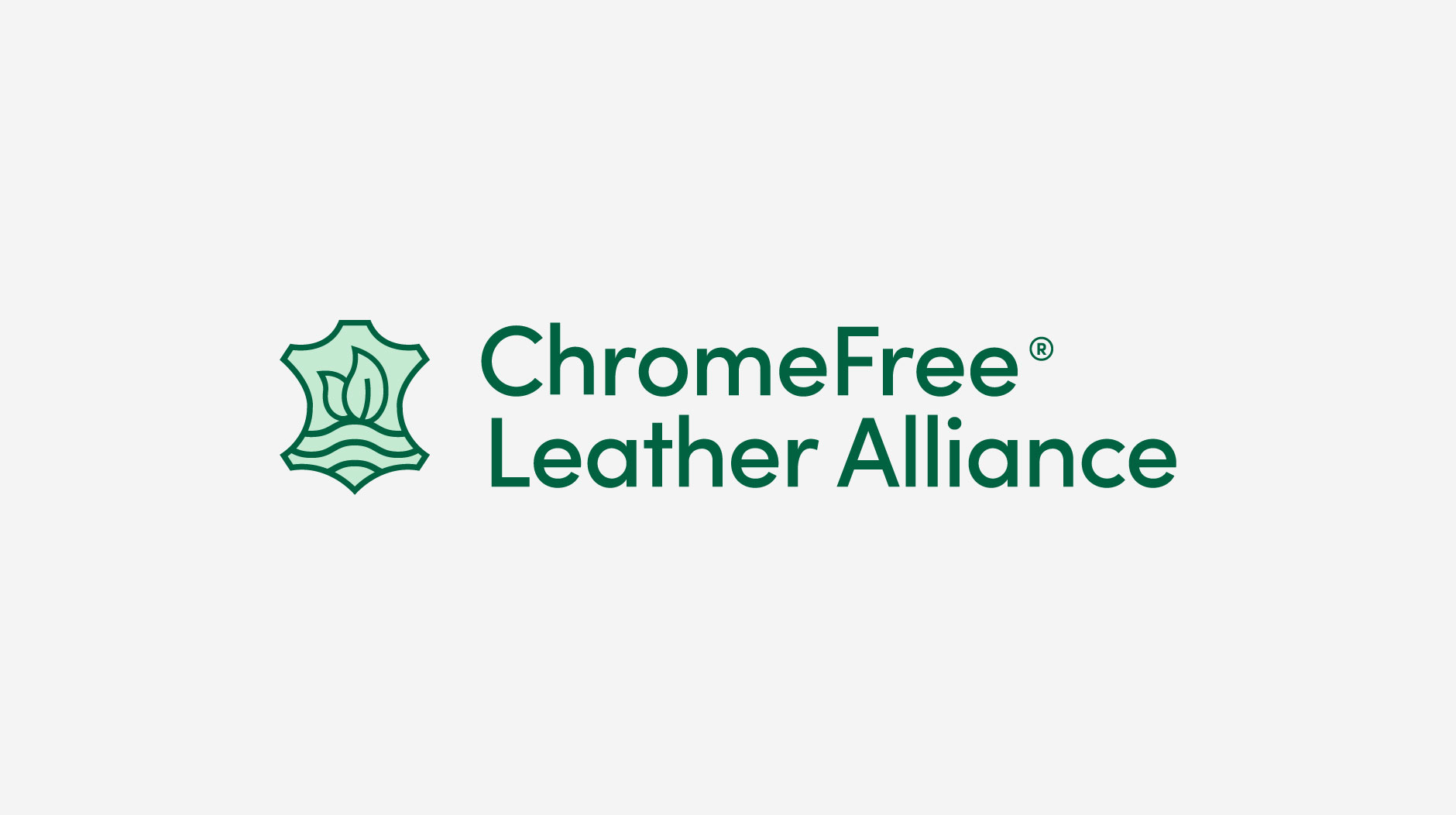ChromeFree green logo lockup on an off-white background
