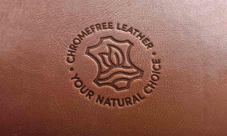 ChromeFree® Leather Alliance Leather Emboss Mockup
