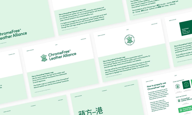 ChromeFree® Leather Alliance Guidelines Mockup