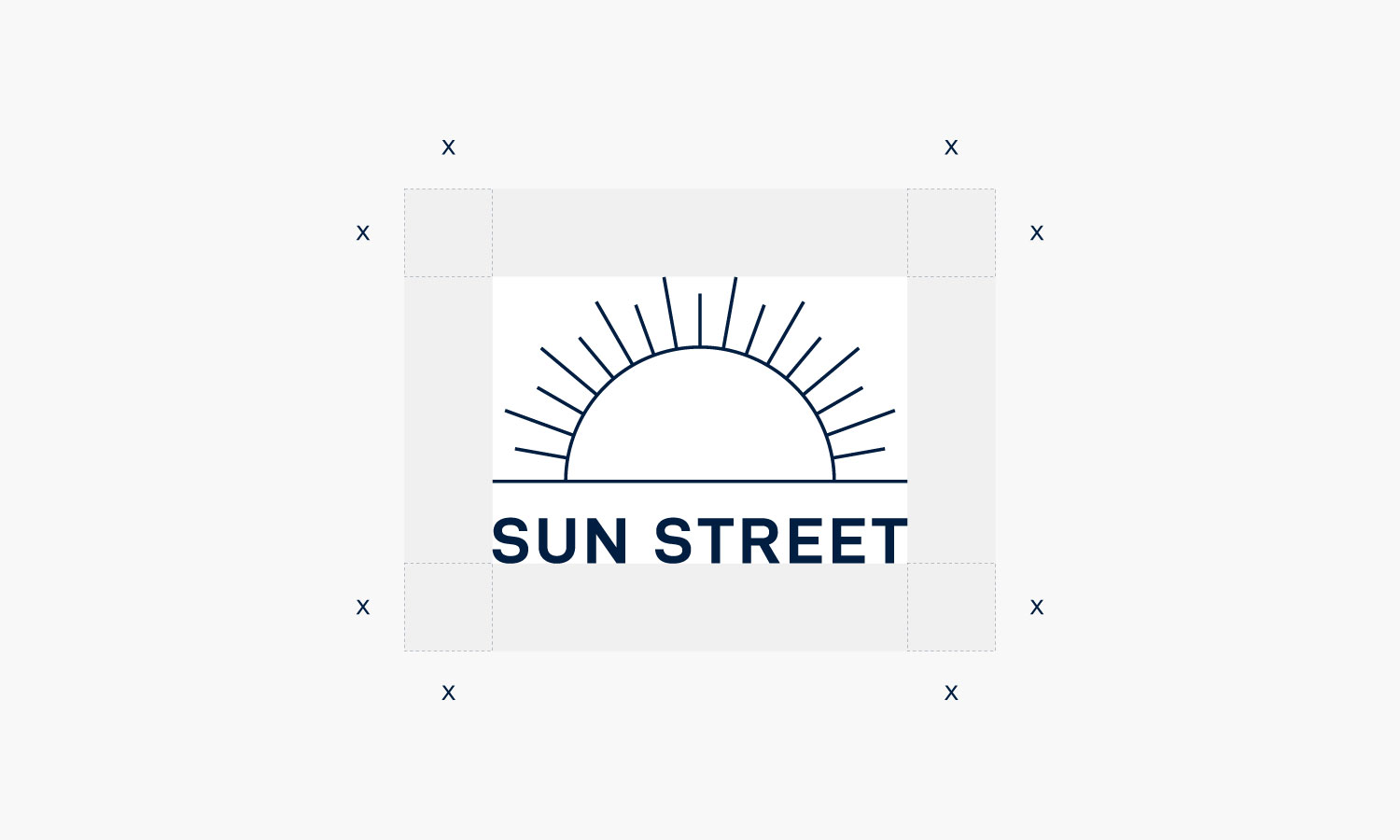 Sun Street Logo and Its Dimensions