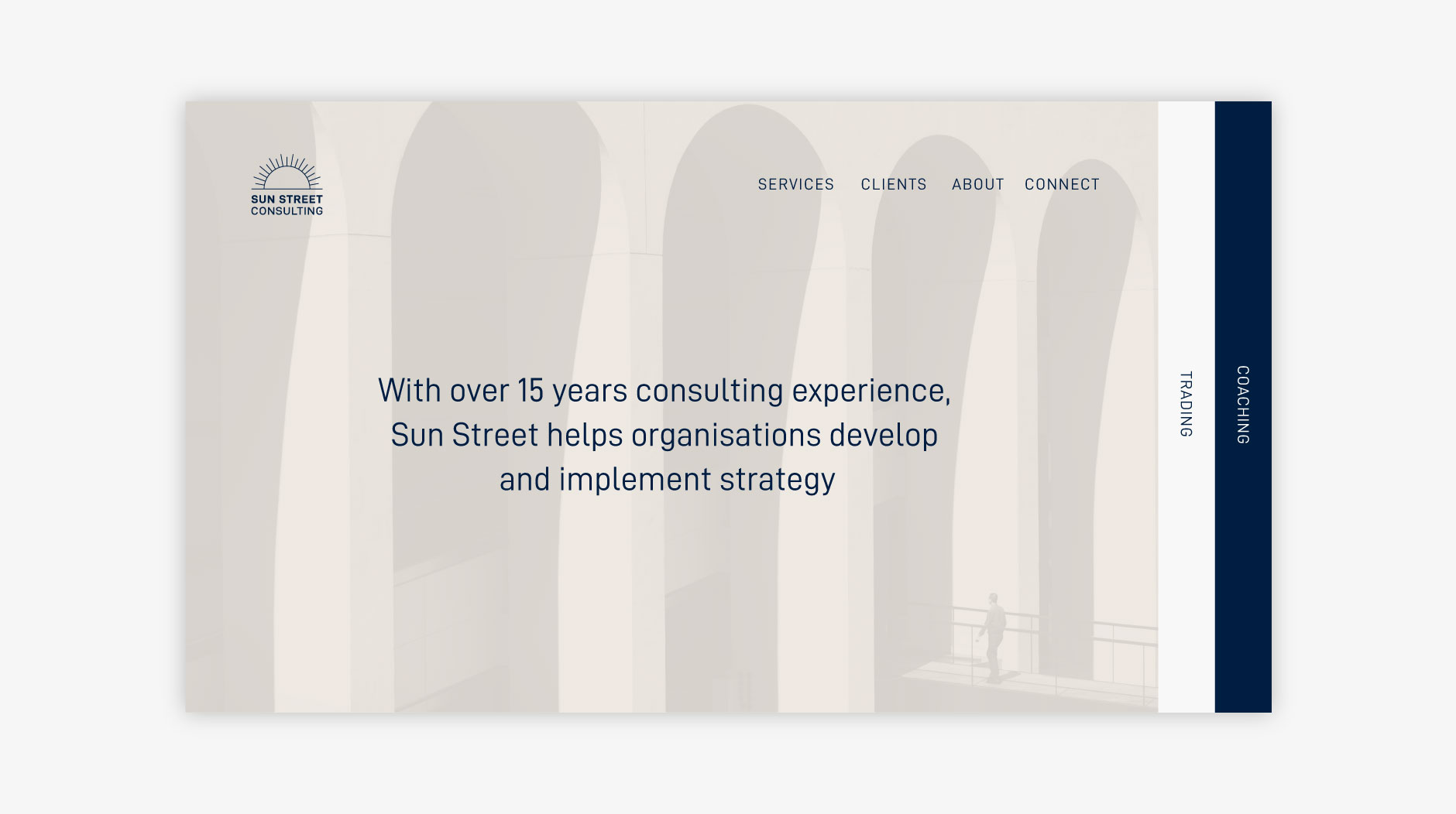Sun Street website homepage