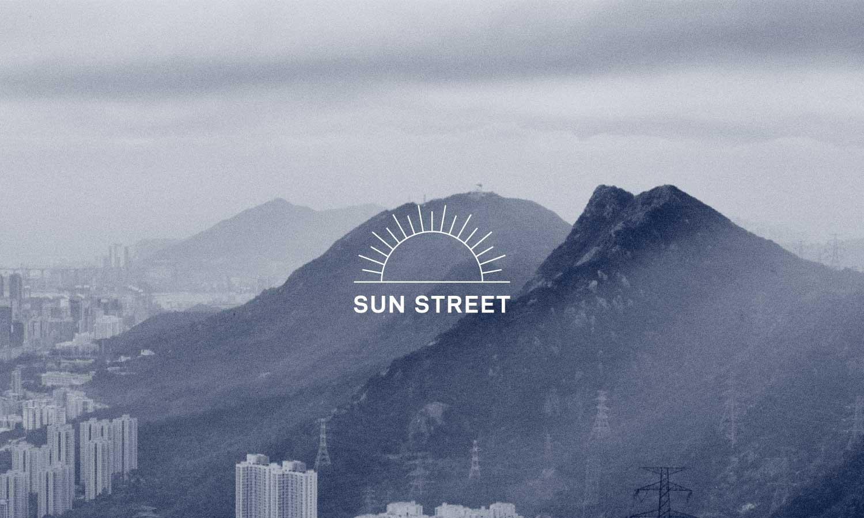 Sun Street Logo and Image Overlay