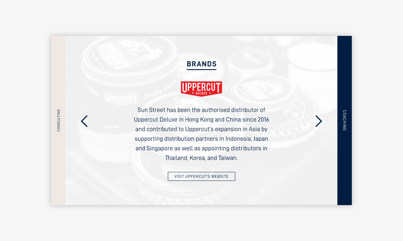 Sun Street Client Website Section