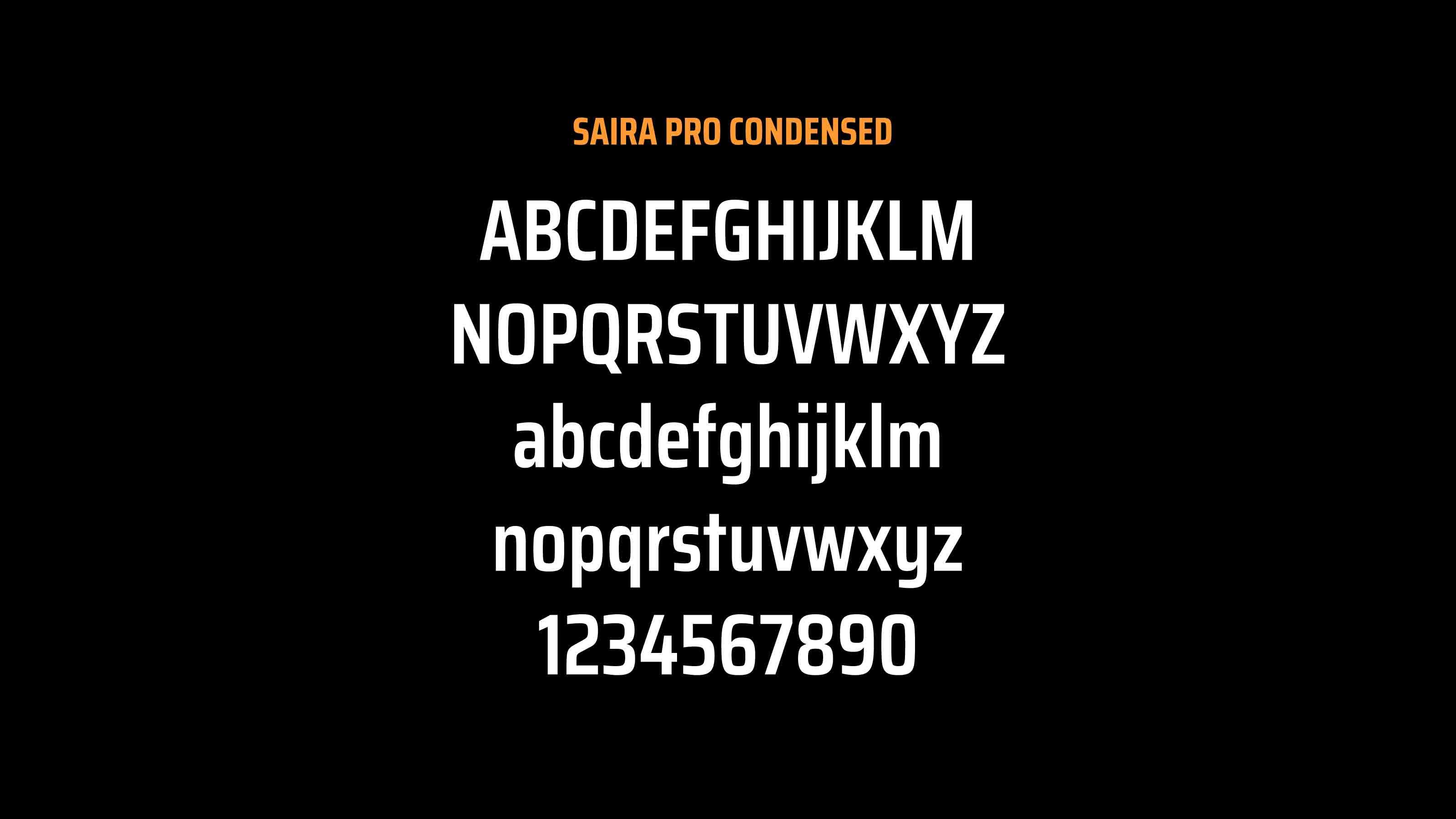 KAMOTEX typeface