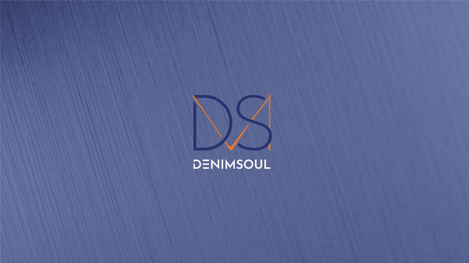 MDS Denim Soul multicolour logo on a blue overlay image background