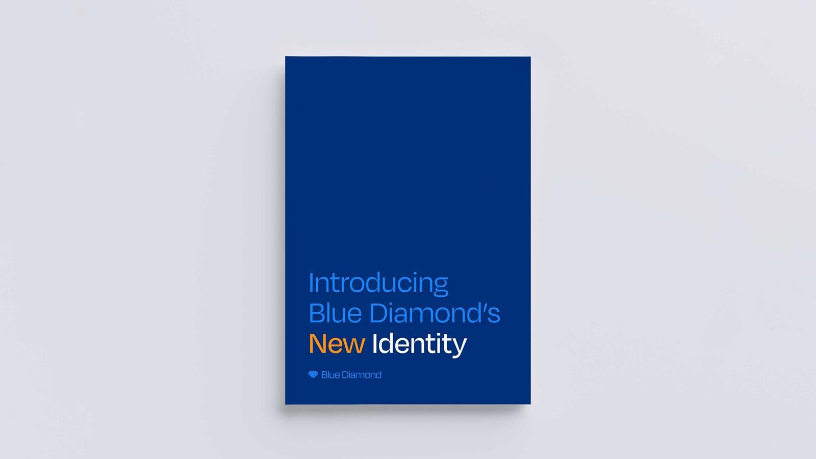 Blue Diamond blue book cover