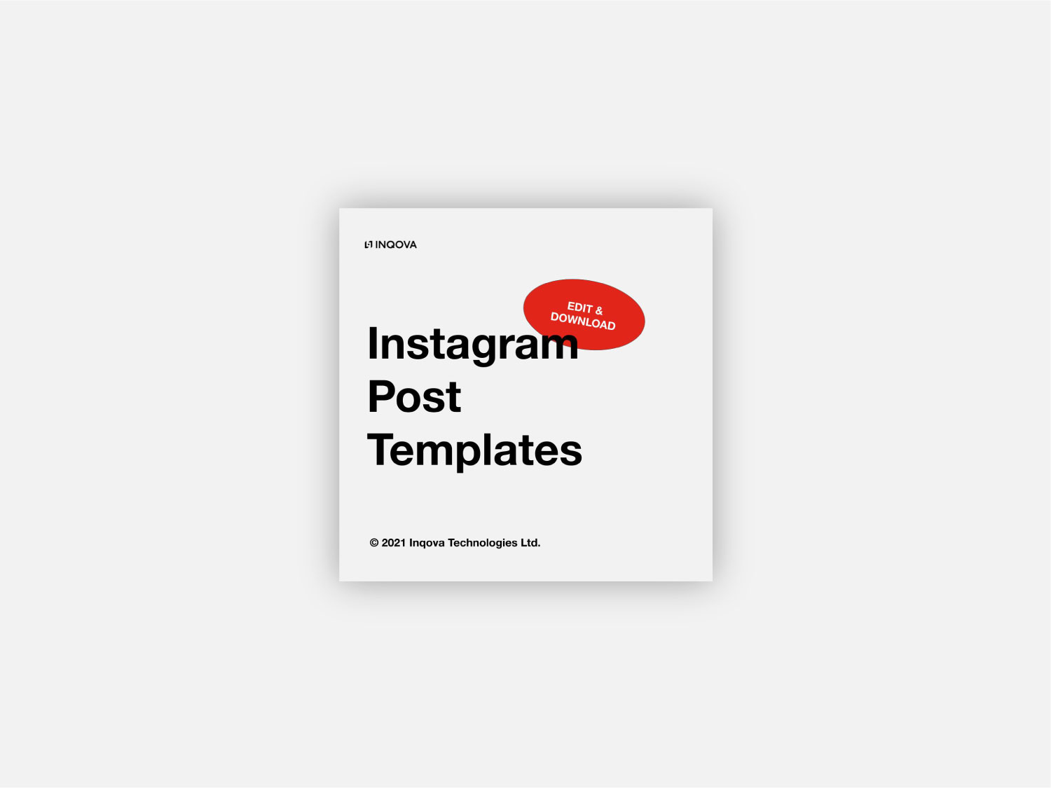 Instagram Post Templates Cover
