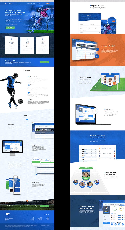 Fanclash Designs For Marketing Site