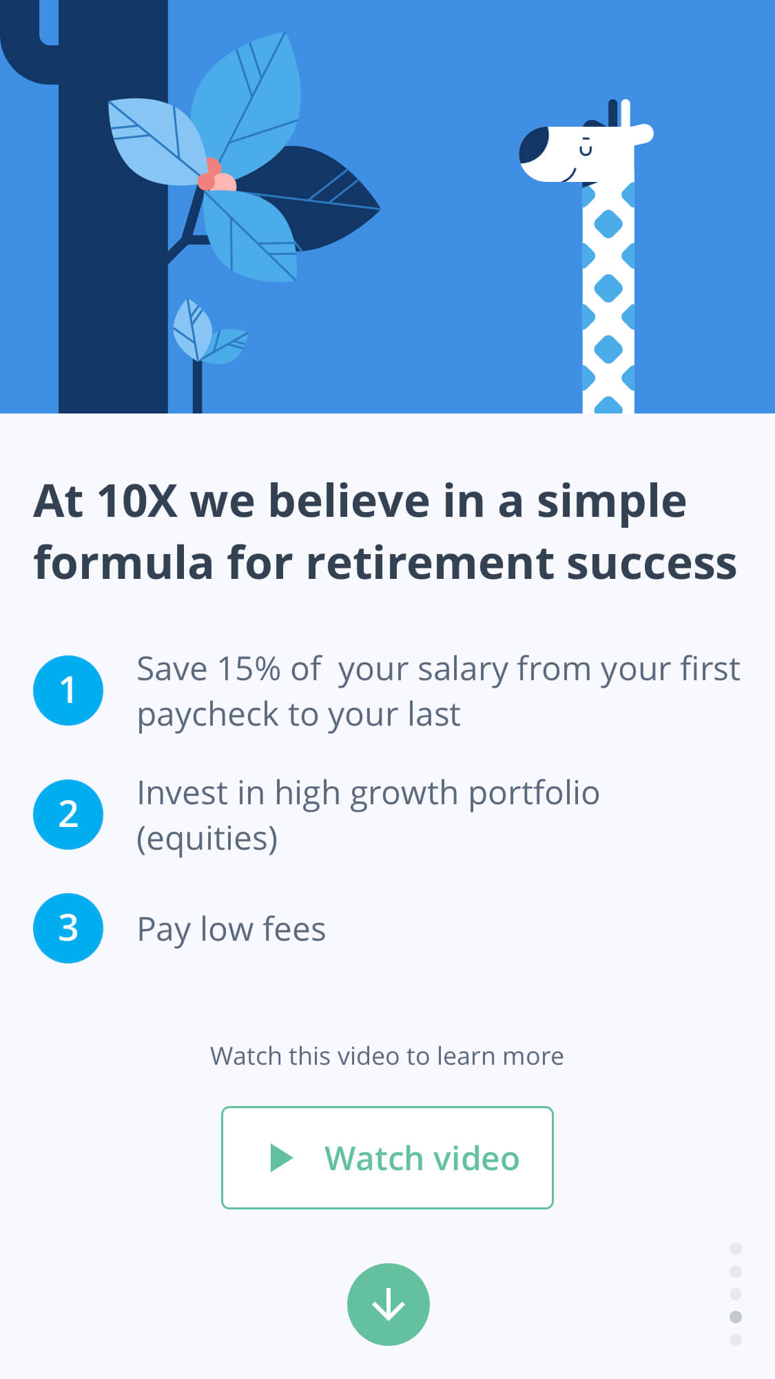 the my10x retirement plan onboarding
