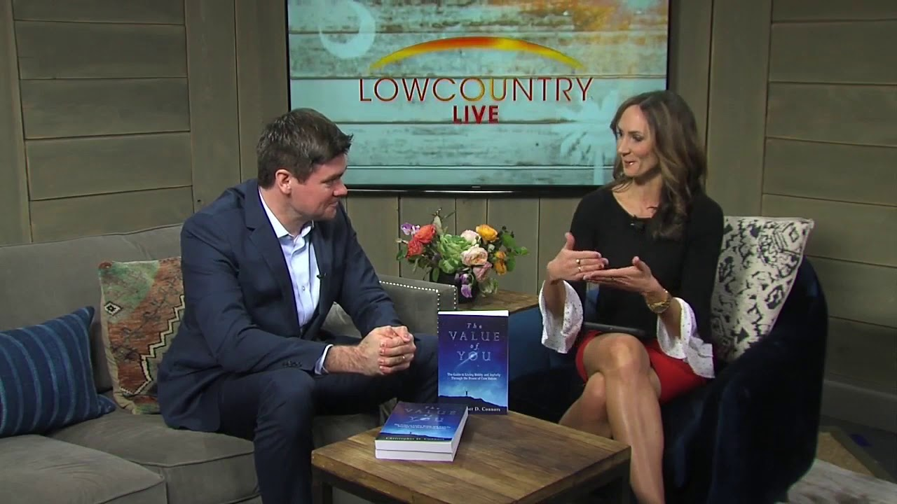 Christopher D. Connors The Value of You Author Spotlight- Lowcountry Live ABC-4 Charleston