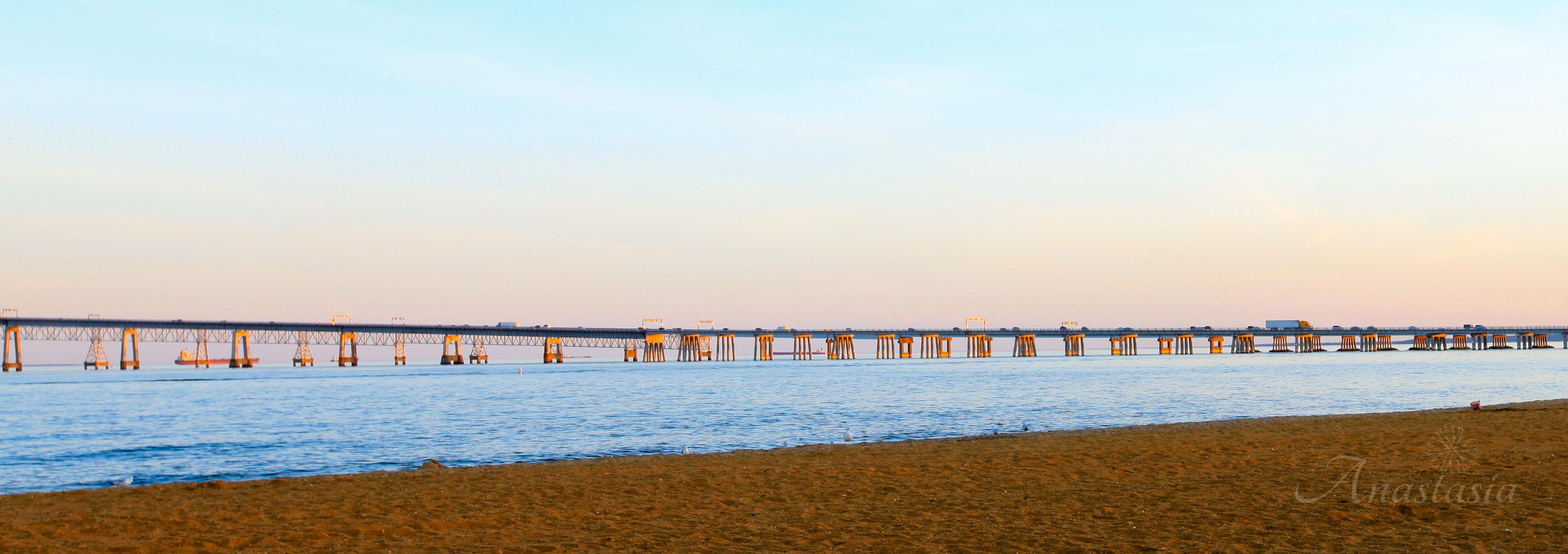 Bay bridge Maryland