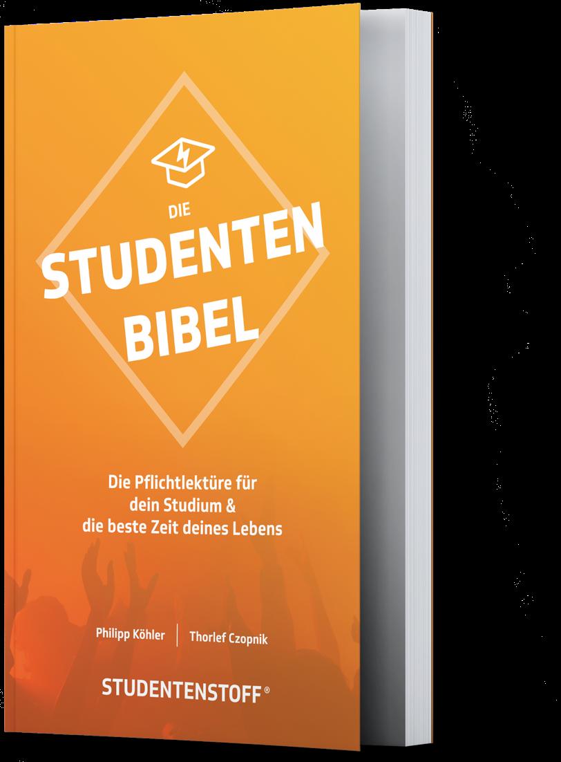 Die Studentenbibel gedrucktes Buch