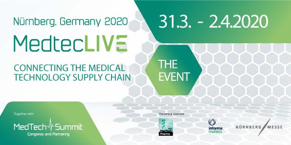 MedtecLIVE Nurnberg 2020