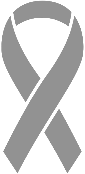 Brain Cancer Ribbon Icon