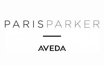 Paris Parker Aveda logo