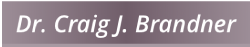 Dr. Craig J. Brandner logo