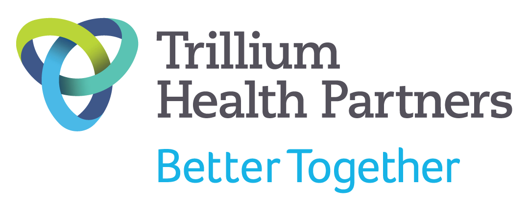 Logo for Trillium Health Partners with tagline Better Together