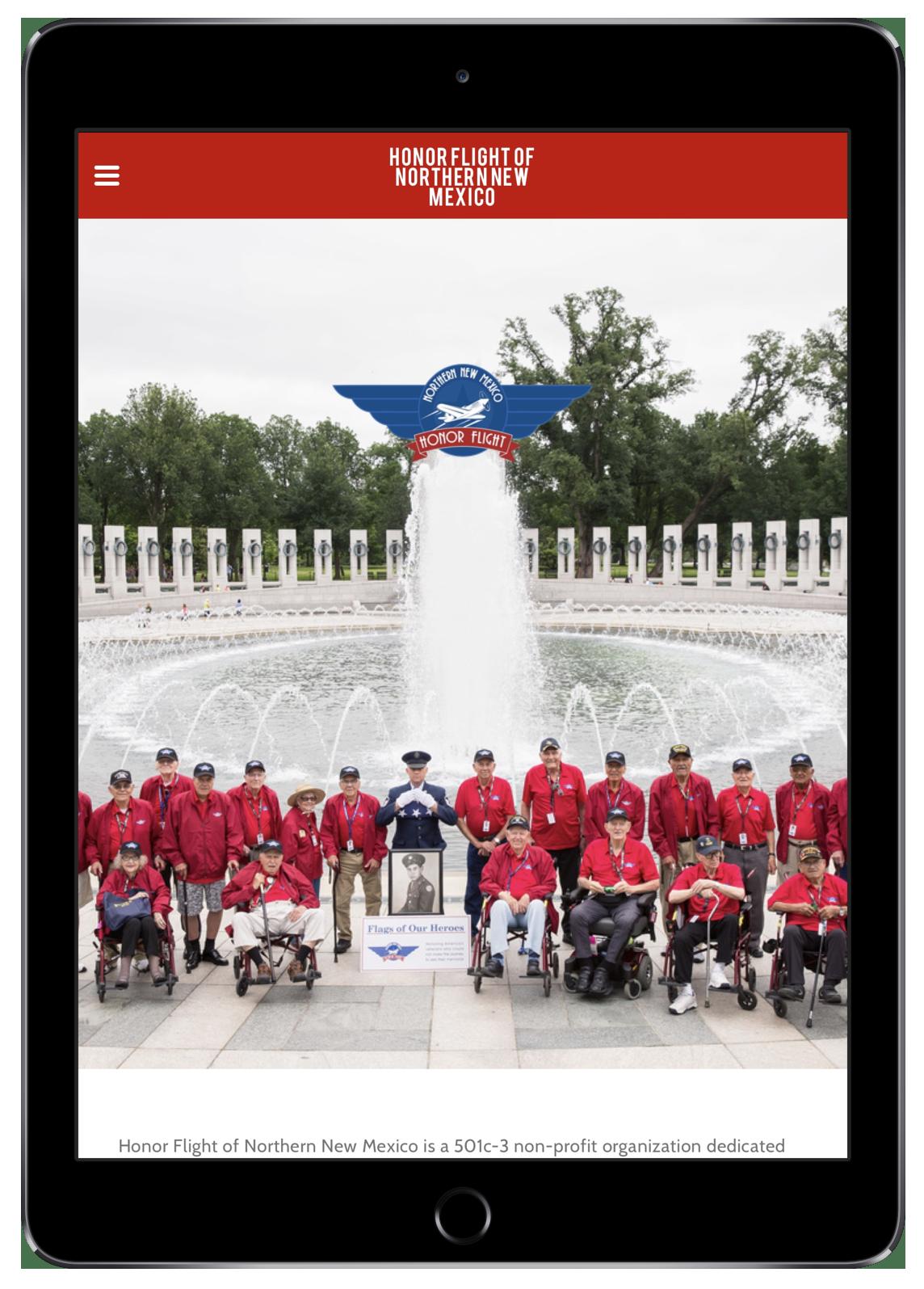 Honor Flight of Northern New Mexico (iPad)