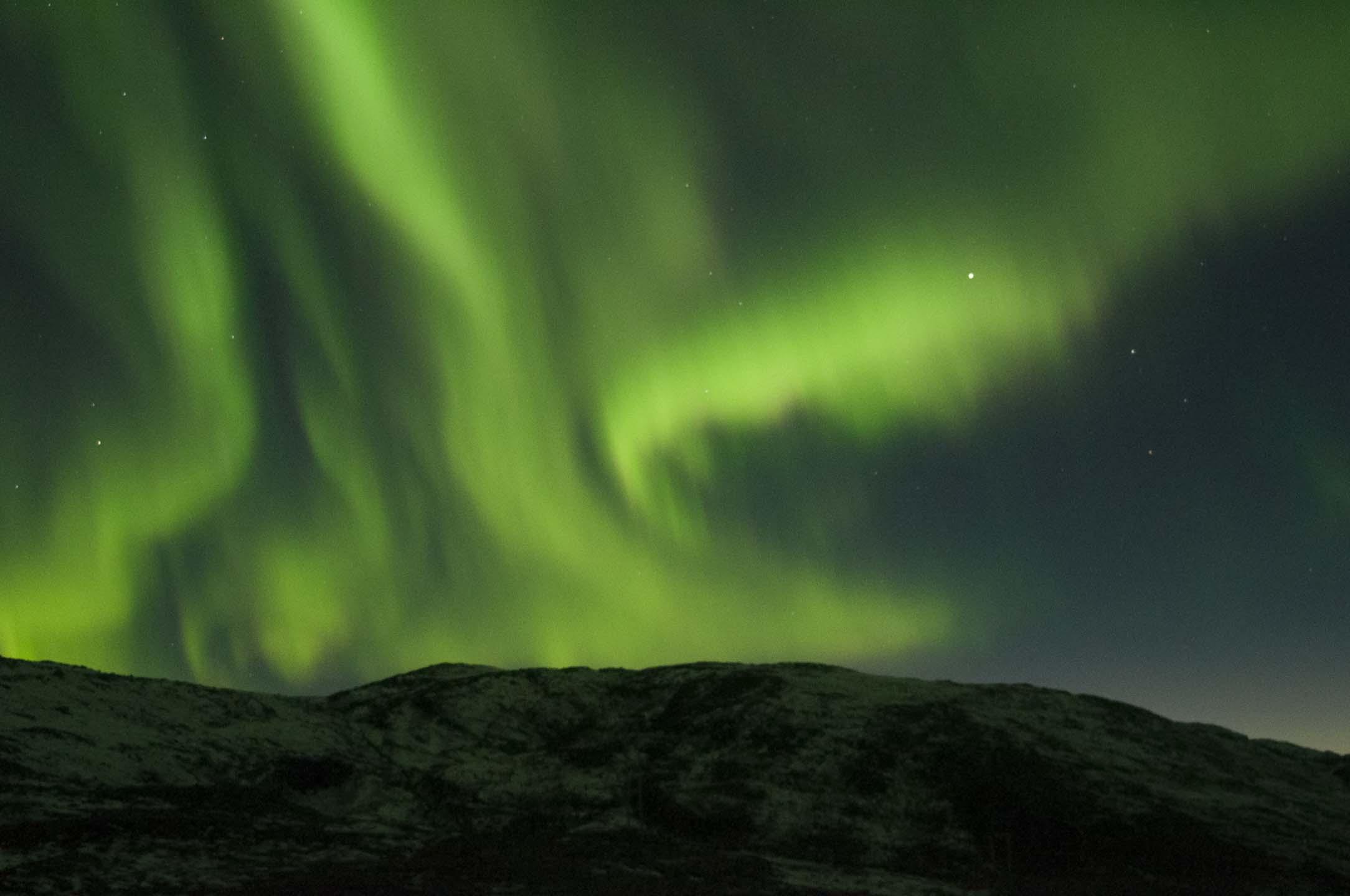 Bilde av nordlys