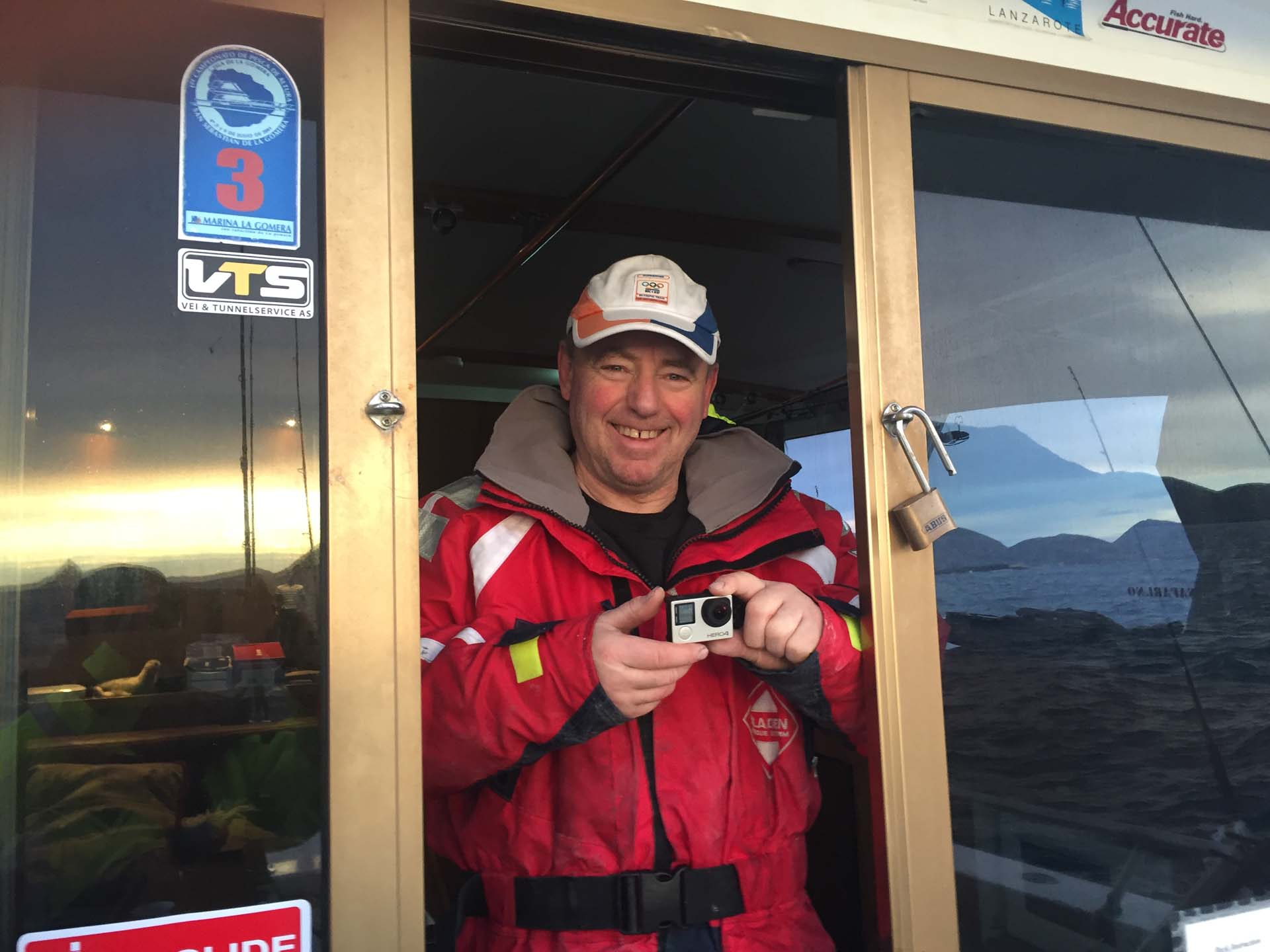 Skipper og guide Morten Willumsen