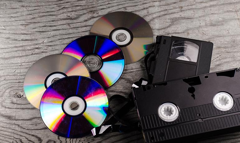 Conversion de vidéos et cassettes