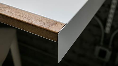 Walnut wood furniture armrest