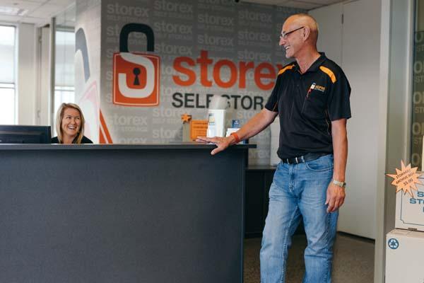 Storex Self Storage Dandenong Desk