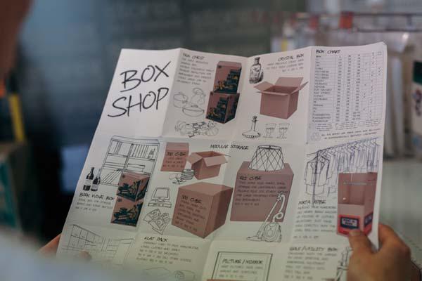 Storex Self Storage Dandenong Box Shop