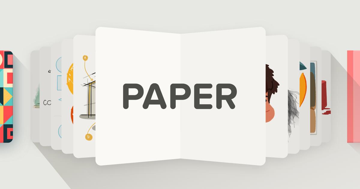 Paper by WeTransfer | Simple Sketch App