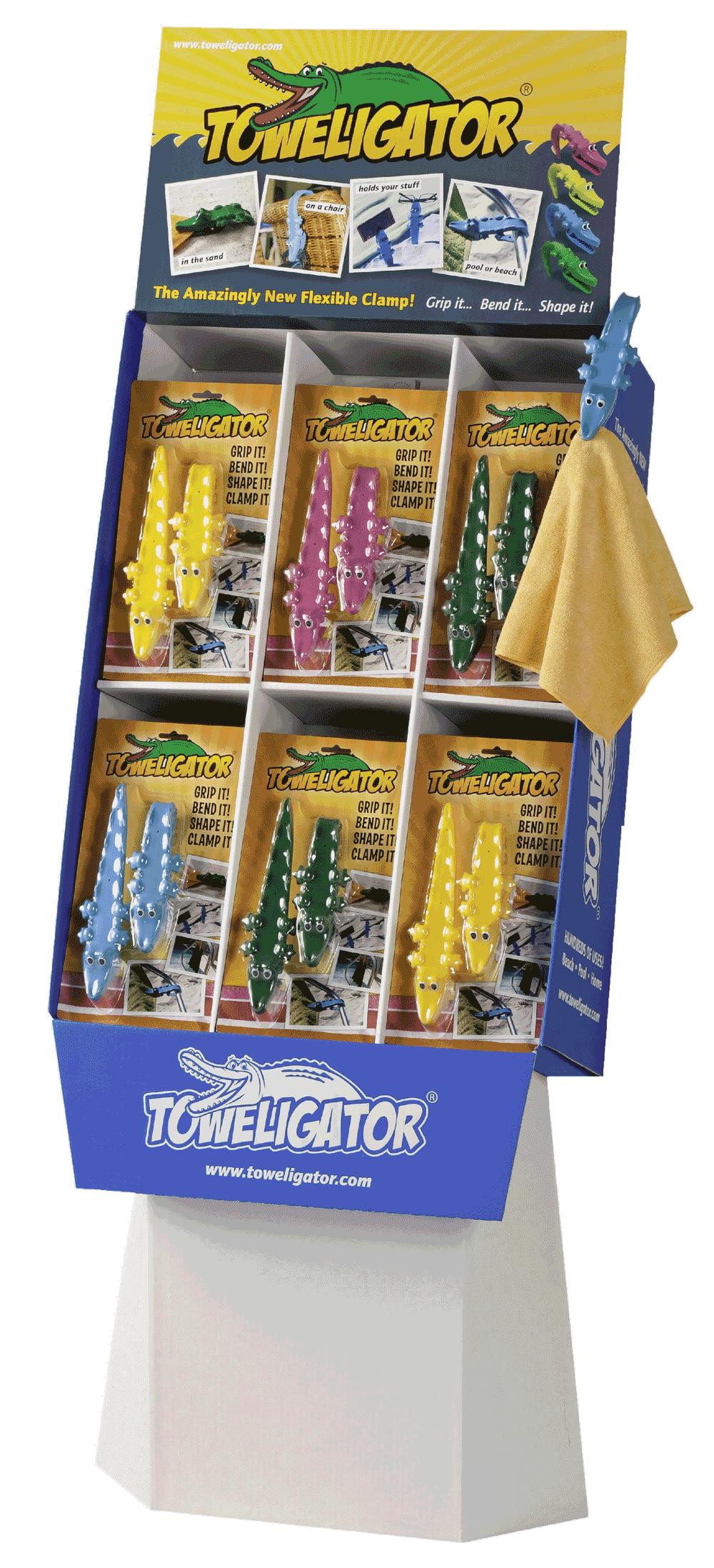 toweligator stand