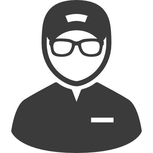 icon of a customer support person