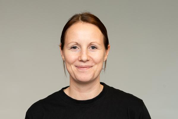 Portrett av LindaRødne