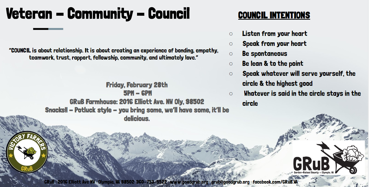 February Veterans Community Council