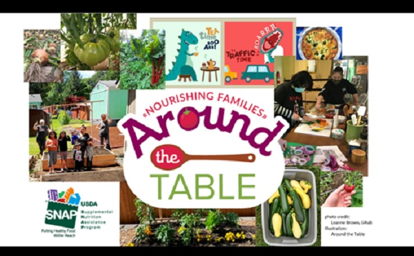 Around the Table: A Free Online Course on Eating Well, Managing Stress, and Staying Healthy!
