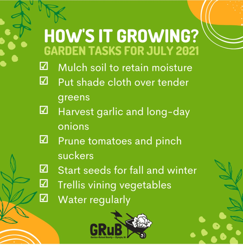 July Gardening Tips Copy