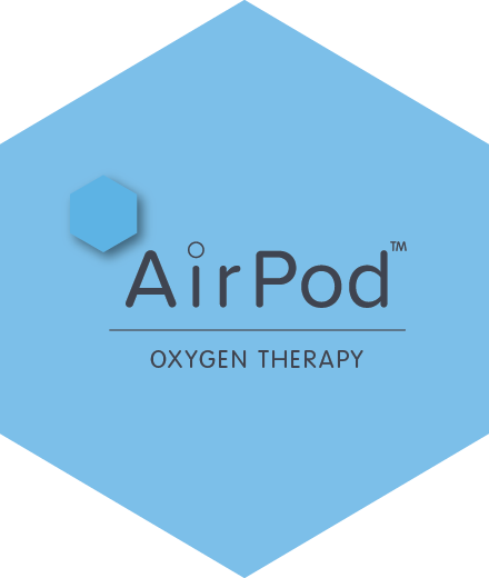 airpod oxygen therapy logo
