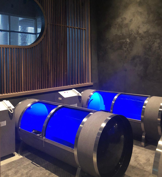 AirPod Oxygen installed at Remedy Place, Sunset Boulevard, West Hollywood