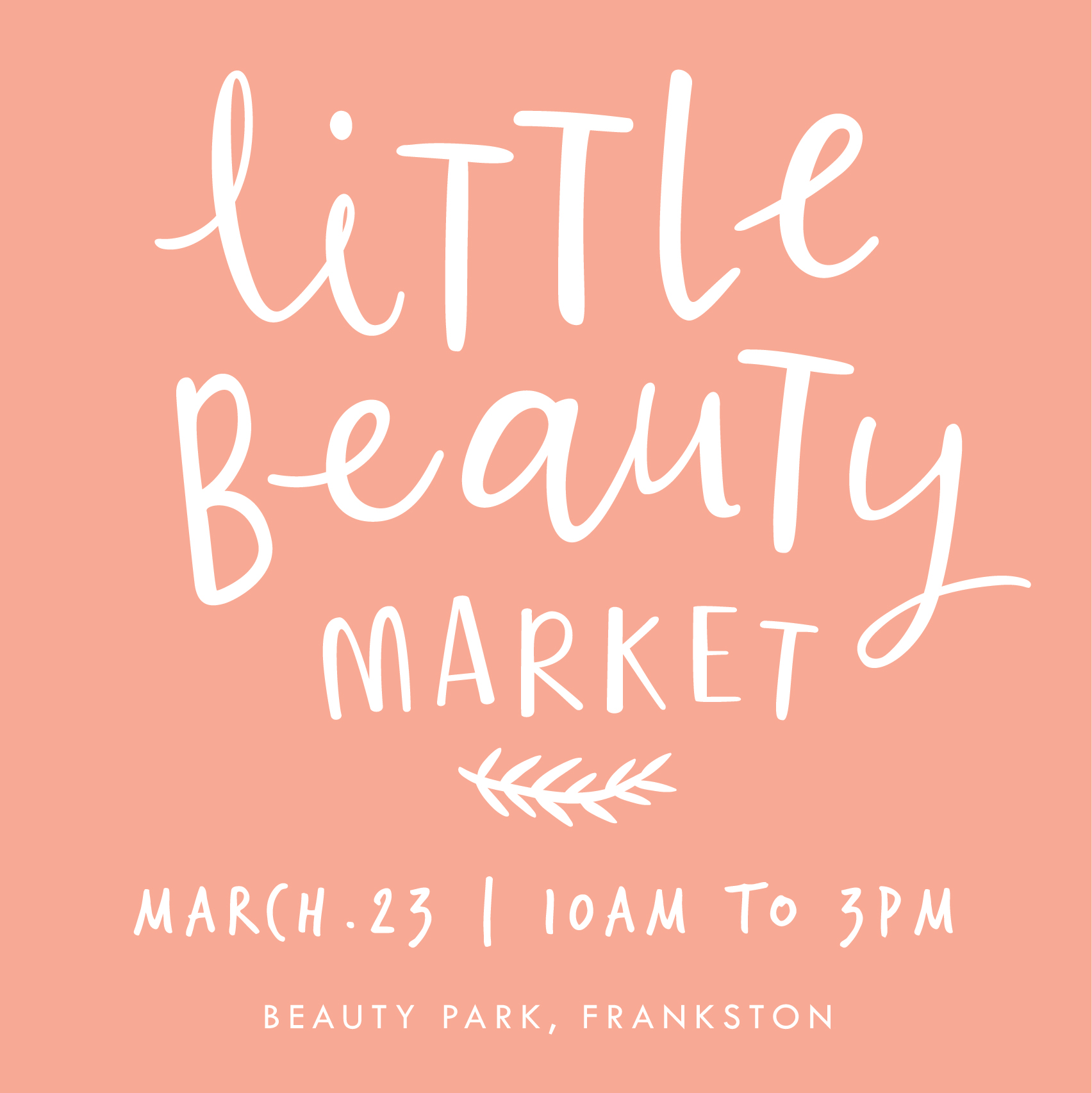 MARCH LITTLE BEAUTY MARKET
