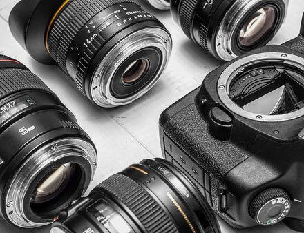 Used photo equipment