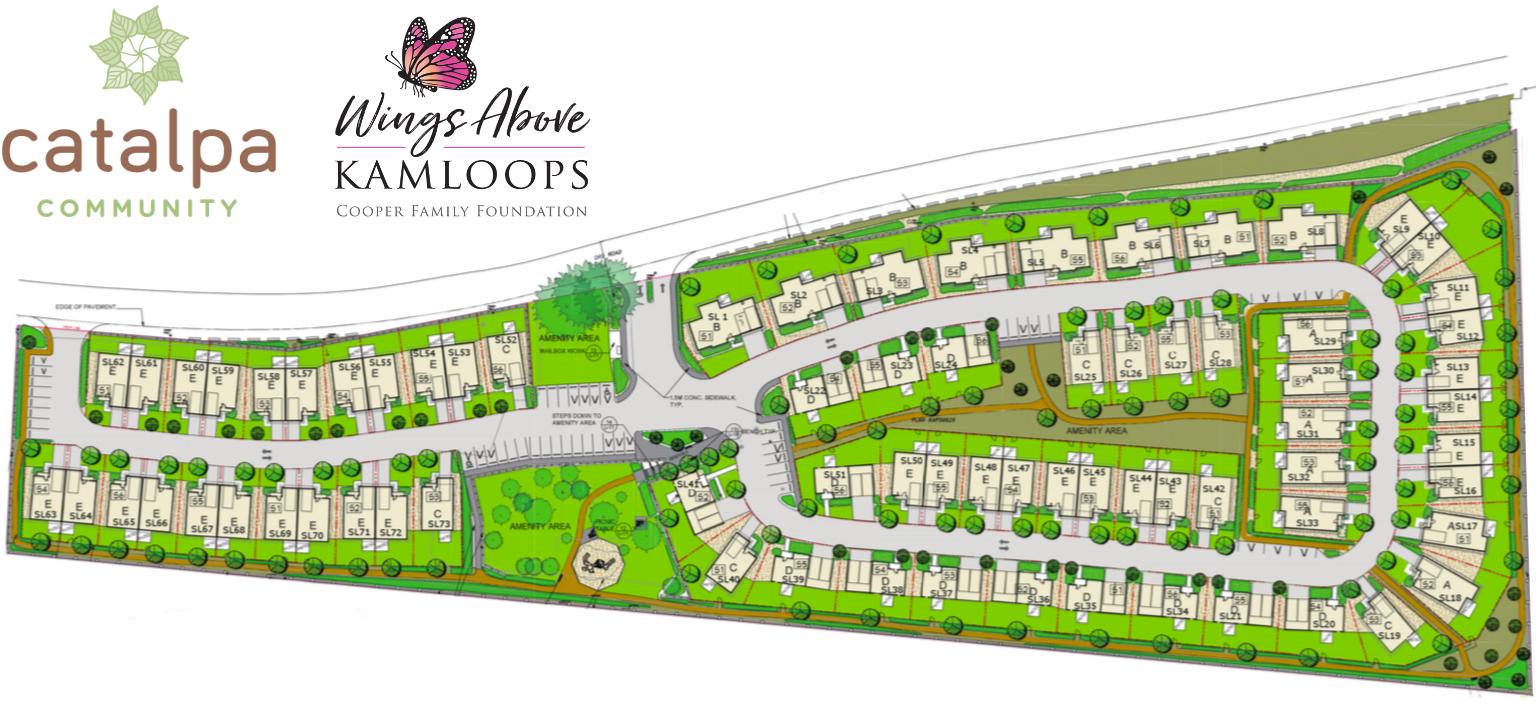 Catalpa Community Site Plan